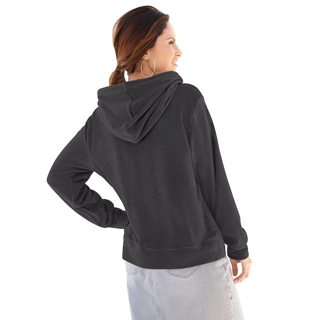 Classic Inspirationen Sweatshirt in samtig weicher Nicki-Qualität