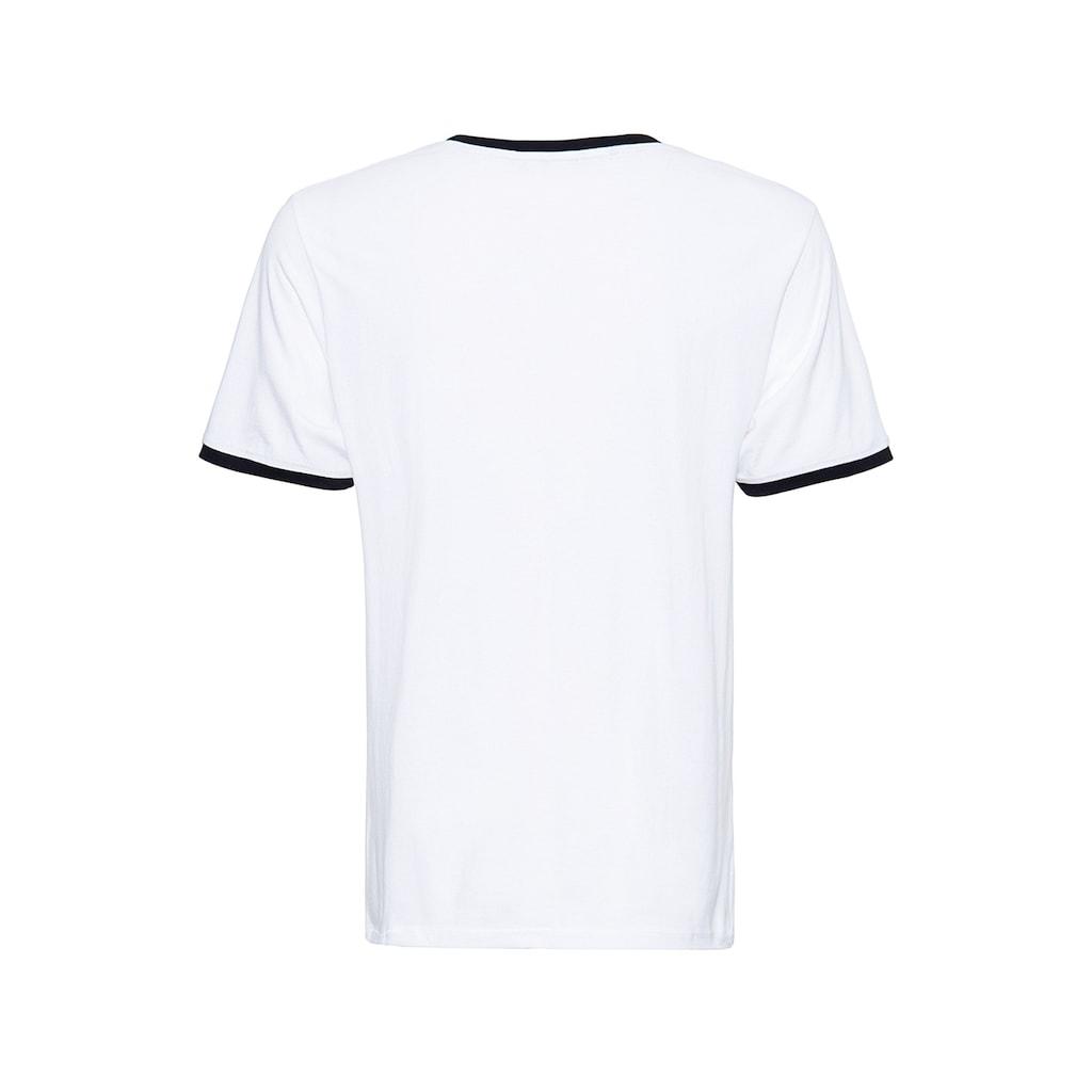 KingKerosin Print-Shirt »Speed Devil«, in angesagter Ringer Optik