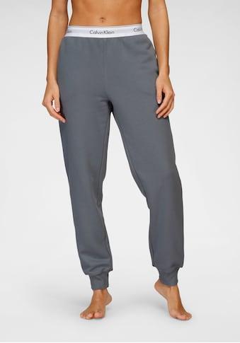 Calvin Klein Relaxhose, mit Wäschebund mit eingewebtem Logo kaufen