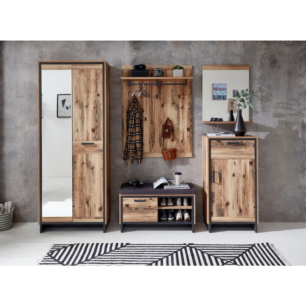 Innostyle Garderoben-Set »Prato«, (5 St.), inkl. Sitzkissen in Lederoptik