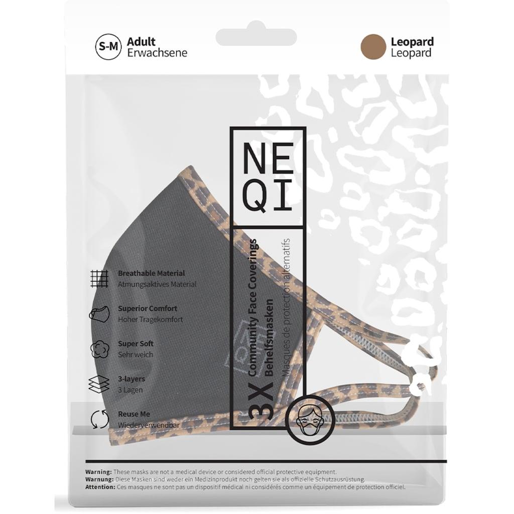 NEQI Mund-Nasen-Masken »Leo«, stylisch und festlich