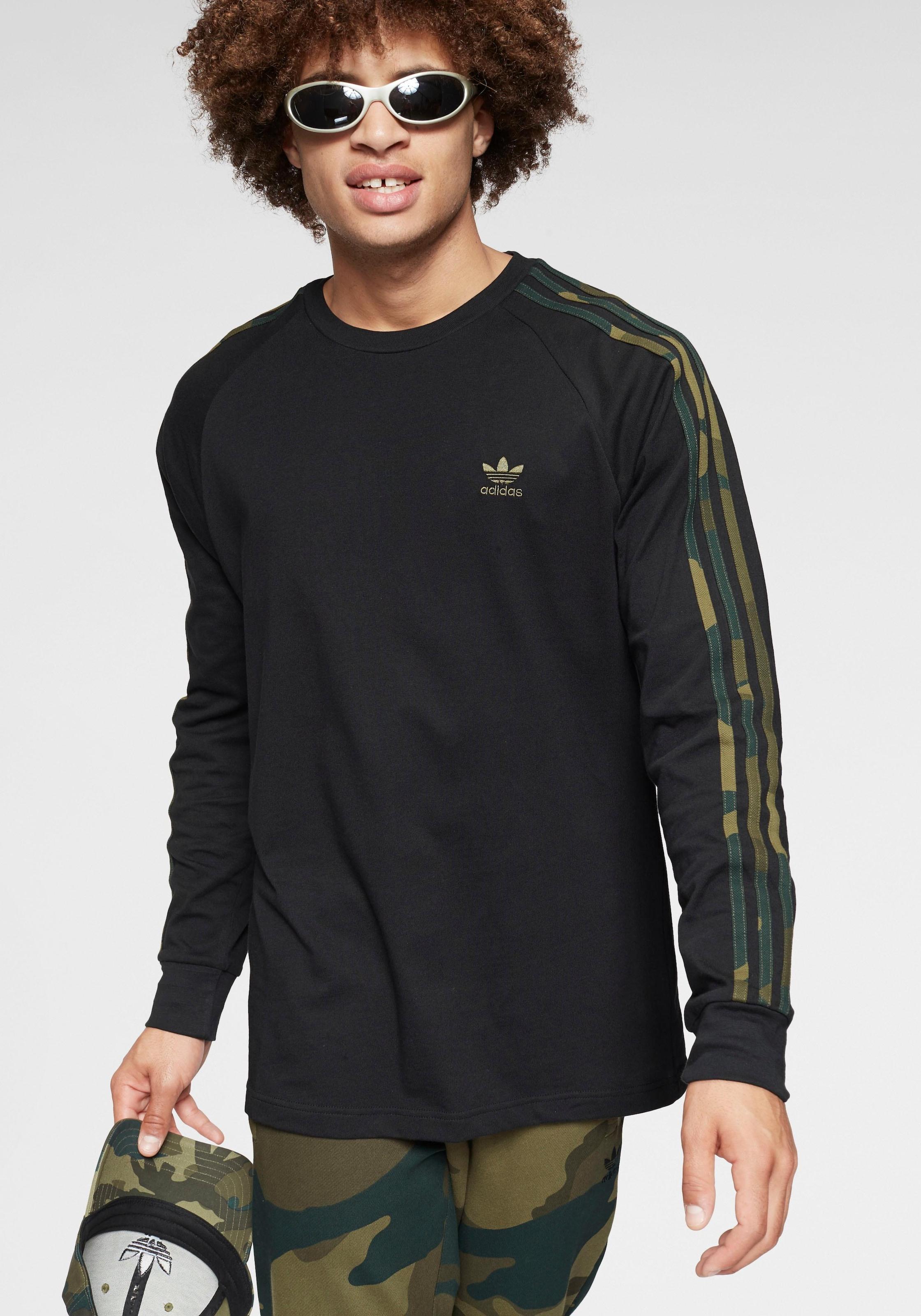 adidas Originals Langarmshirt CAMO LONGSLEEVE TEE