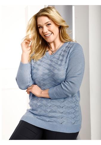 m. collection V - Ausschnitt - Pullover kaufen
