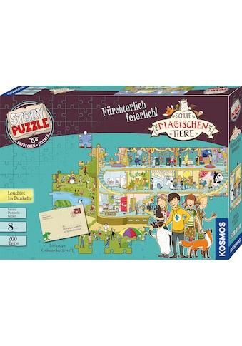"""Kosmos Puzzle """"Story Puzzle: Die Schule der magischen Tiere, Fürchterlich Feierlich"""" kaufen"""