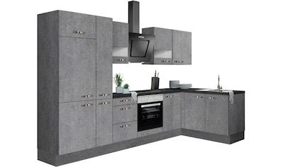 OPTIFIT Winkelküche »Cara«, ohne E-Geräte, mit Vollauszügen und Soft-Close-Funktion,... kaufen