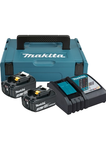 Makita Akku-Set »Power Source Kit«, 2 Akkus und Ladegerät kaufen