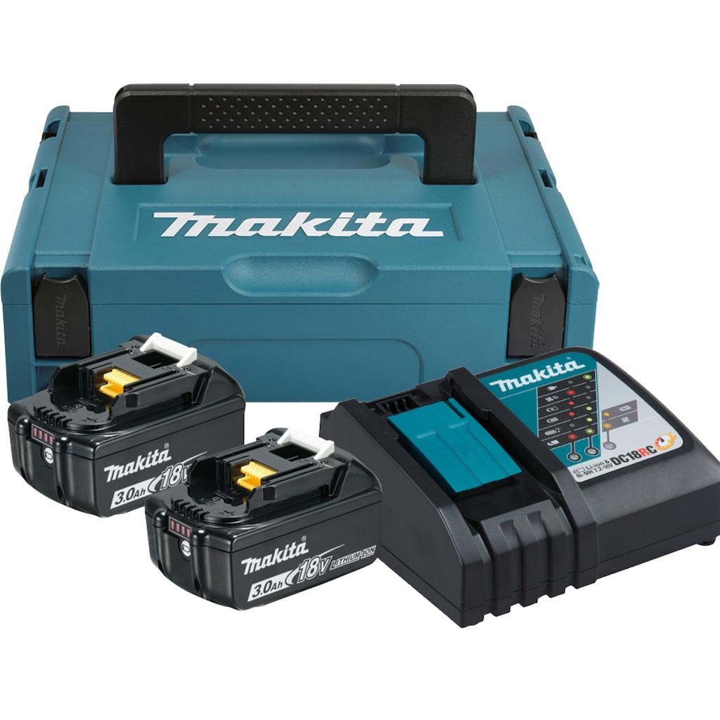 Makita Akku-Set »Power Source Kit«, 2 Akkus und Ladegerät