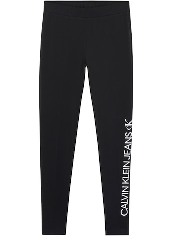 Calvin Klein Jeans Leggings »MIRRORED LOGO LEGGING«, mit gespiegeltem Calvin Klein... kaufen