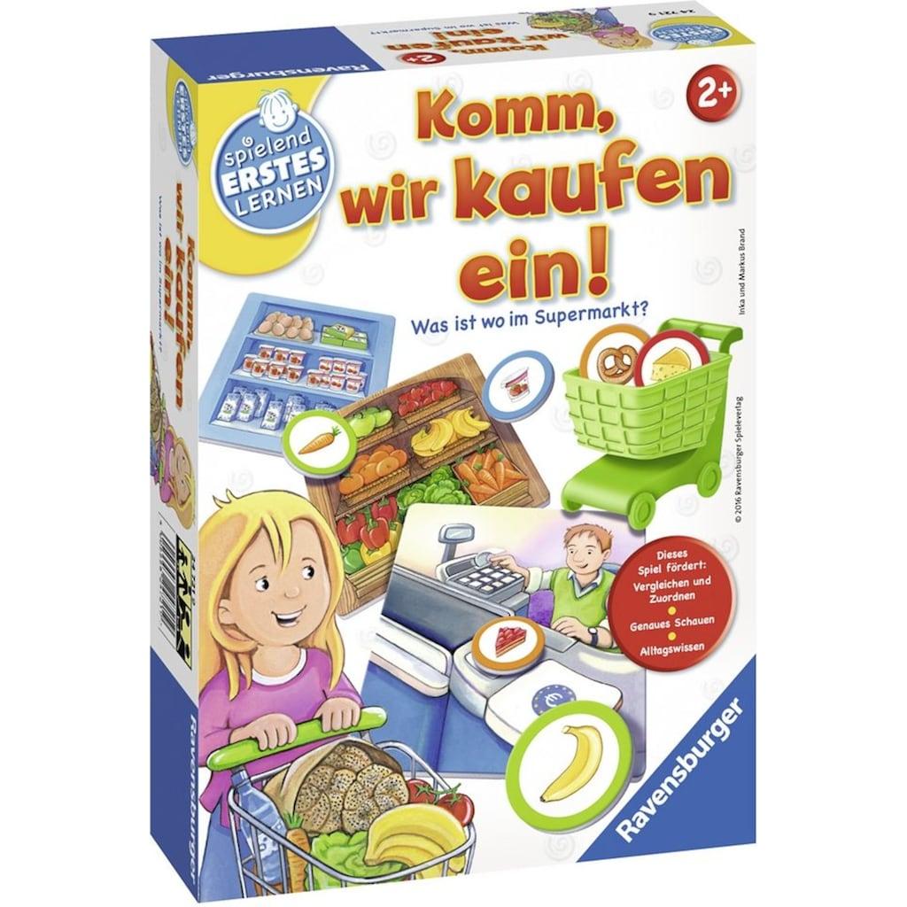 Ravensburger Spiel »Komm, wir kaufen ein!«, Made in Europe, FSC® - schützt Wald - weltweit