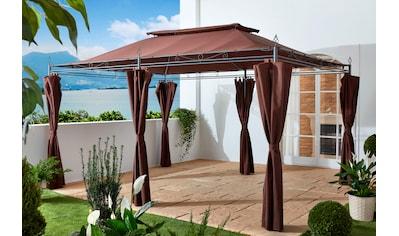 GRASEKAMP Pavillon mit Seitenteilen »Inca«, BxL: 300x400 cm kaufen