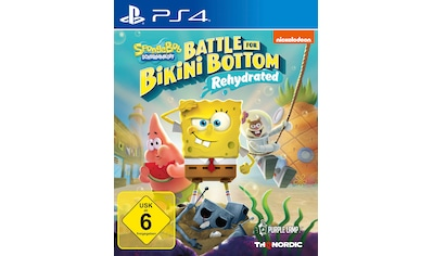 THQ Nordic Spiel »Spongebob SquarePants: Battle for Bikini Bottom«, PlayStation 4 kaufen