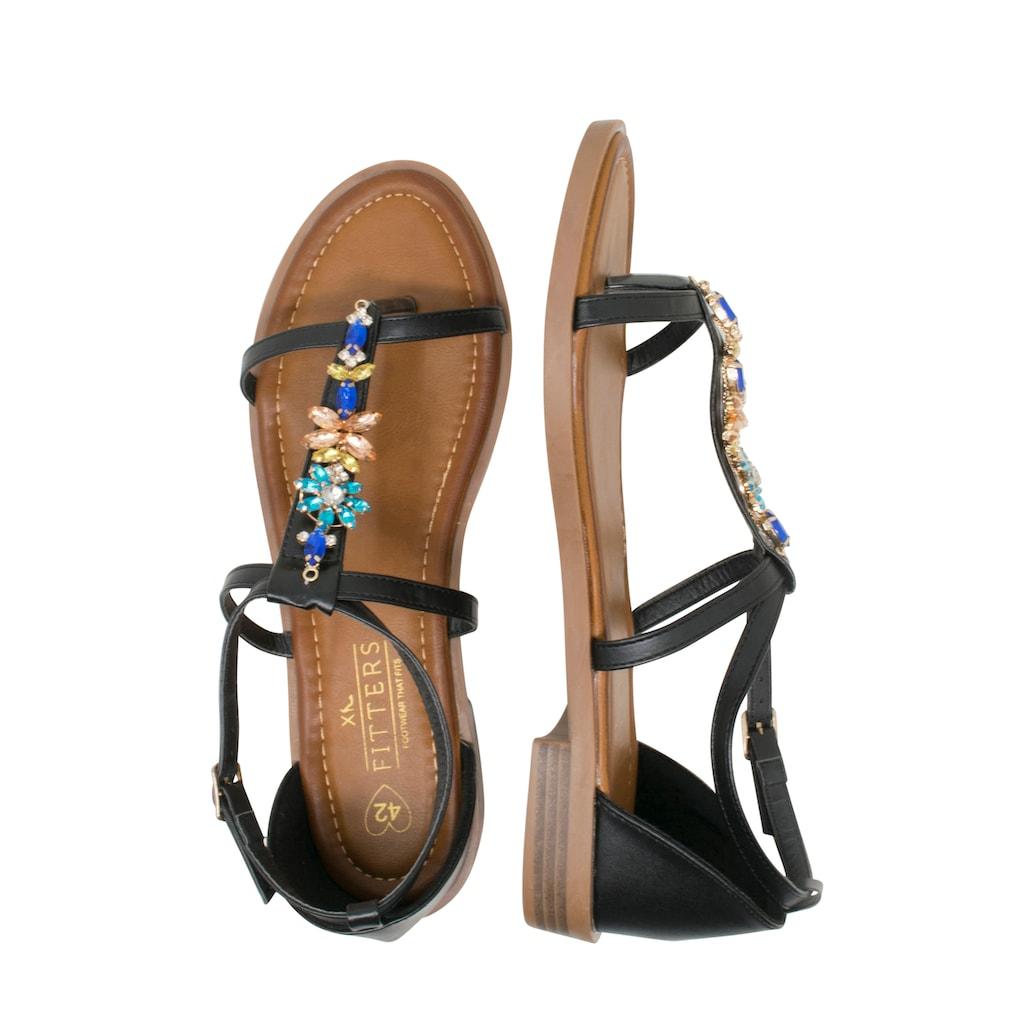 Fitters Footwear Sandale »MONA«, mit schöner Verzierung
