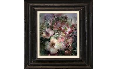 Holzbild »Klassische Blüten« kaufen