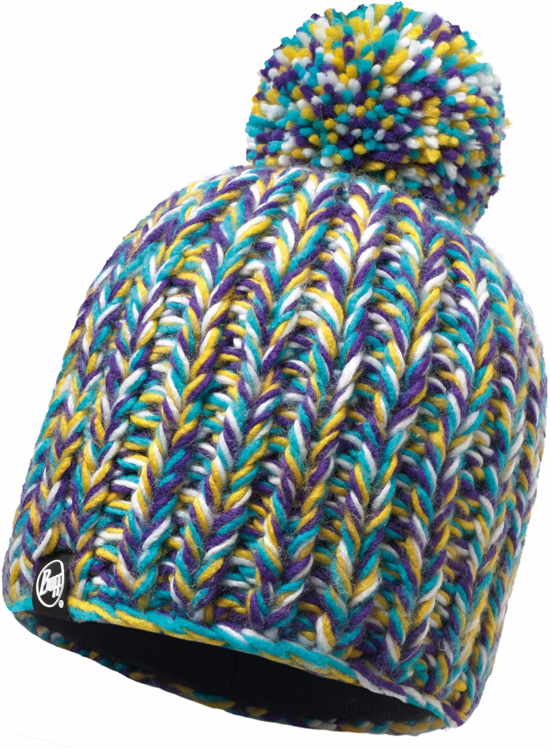 Buff Bommelmütze Knitted Polar Fleece Hat Buff | Accessoires > Mützen | Bunt | Acryl | Buff