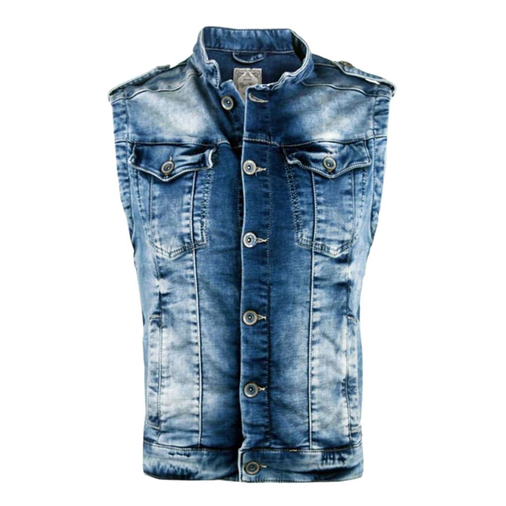 Cipo & Baxx Jeansweste, mit dezenter Waschung