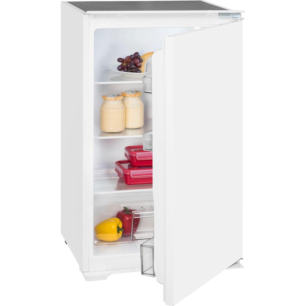 vonReiter Einbaukühlschrank, VR EVKS 08811 A++, 88 cm hoch, 54 cm breit