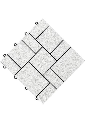 florco® Klickfliesen »stone«, 0,36 m² kaufen