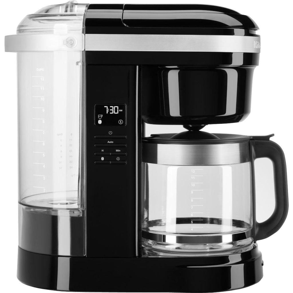 KitchenAid Filterkaffeemaschine »KitchenAid 5KCM1208EOB«, goldfarbener Permanentfilter, CLASSIC Drip-Kaffeemaschine mit spiralförmigem Wasserauslass