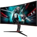 AOC »CU34G2X/BK« Gaming-Monitor (34 Zoll, 3440 x 1440 Pixel, WQHD, 1 ms Reaktionszeit, 144 Hz)