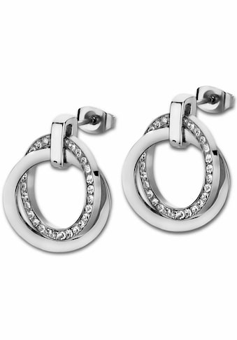 Lotus Style Paar Ohrstecker »Privilege, LS1780-4/1«, mit Glassteinen kaufen
