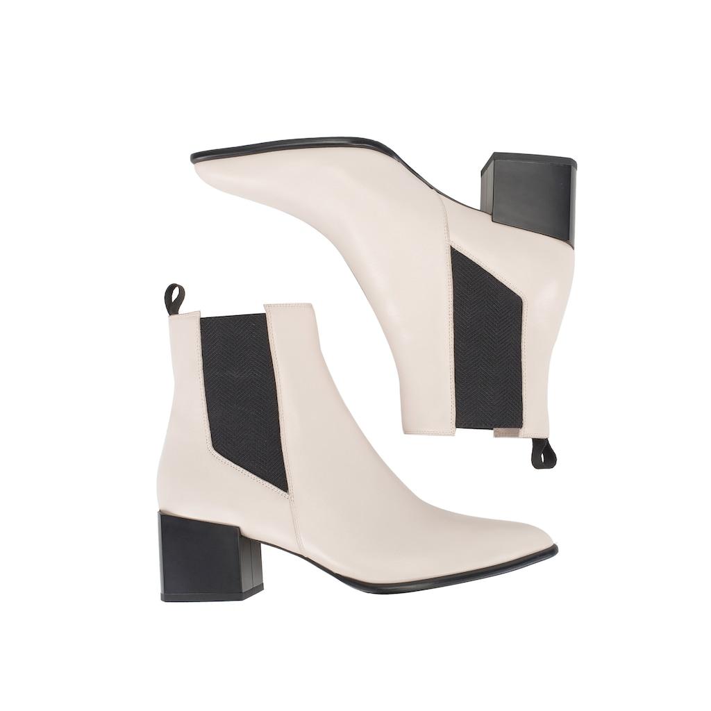 ekonika Stiefel, im zweifarbigen Design