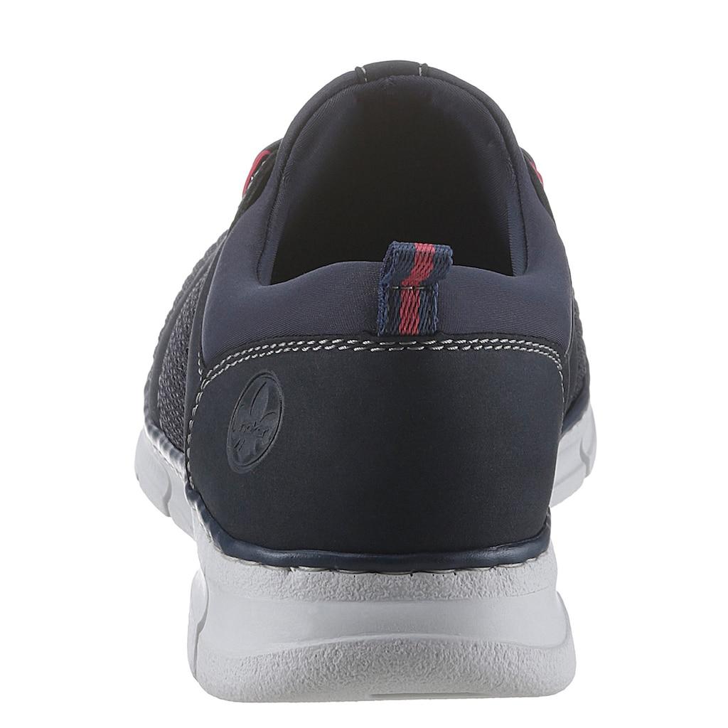 Rieker Sneaker, mit Kontrastnähten