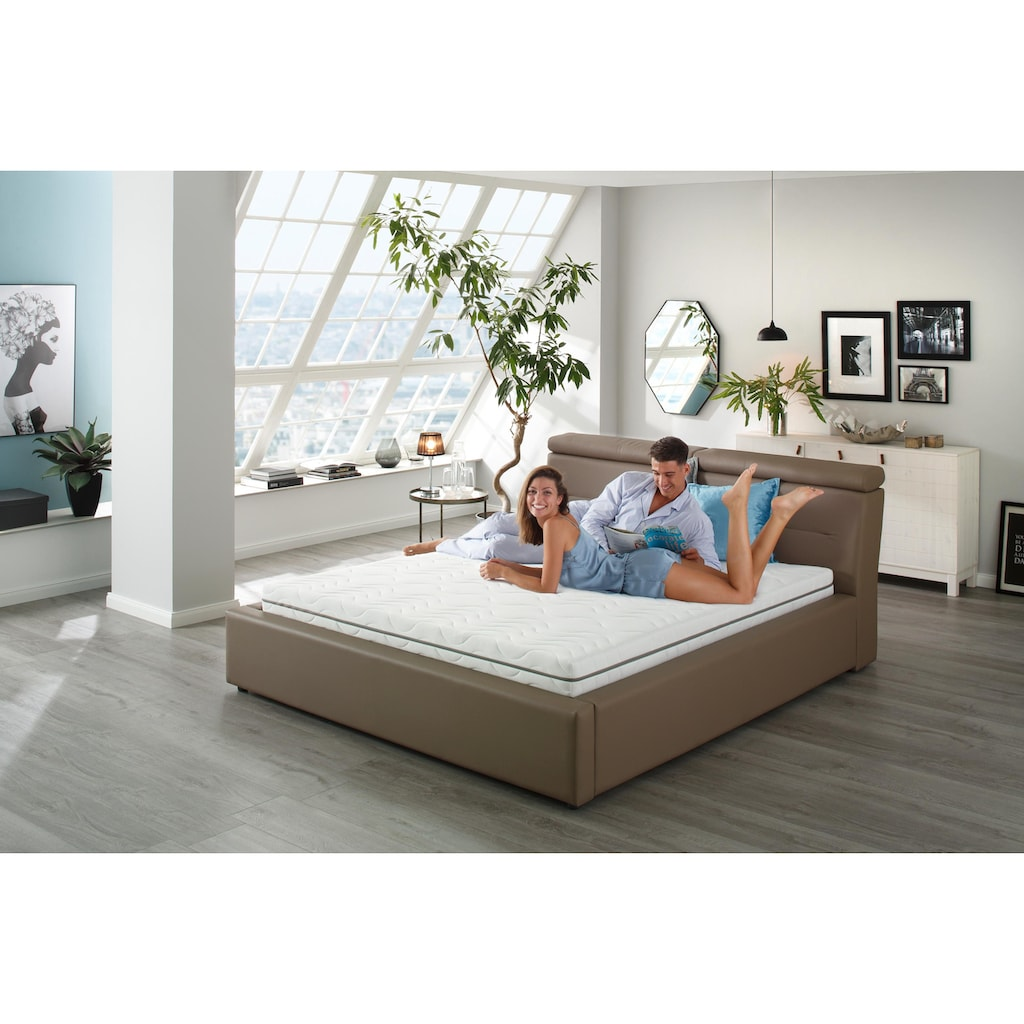 BeCo EXCLUSIV Komfortschaummatratze »Nightstyle«, (1 St.), Doppelbett-Matratze zum Einzelpreis