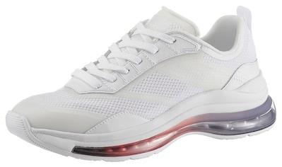 TOMMY HILFIGER Keilsneaker »CITY AIR RUNNER MIX«, mit besonderer Laufsohle kaufen