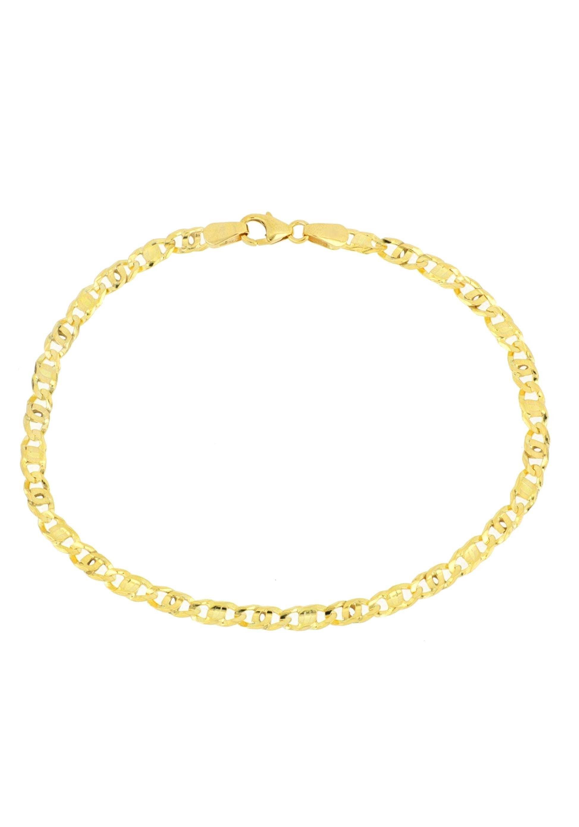 Firetti Goldarmband in Tigeraugenkettengliederung diamantiert poliert konkav   Schmuck > Armbänder > Goldarmbänder   Firetti