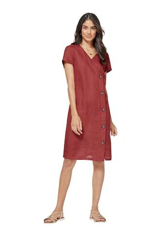 Inspirationen Kleid mit asymmetrischer Zierknopfleiste kaufen