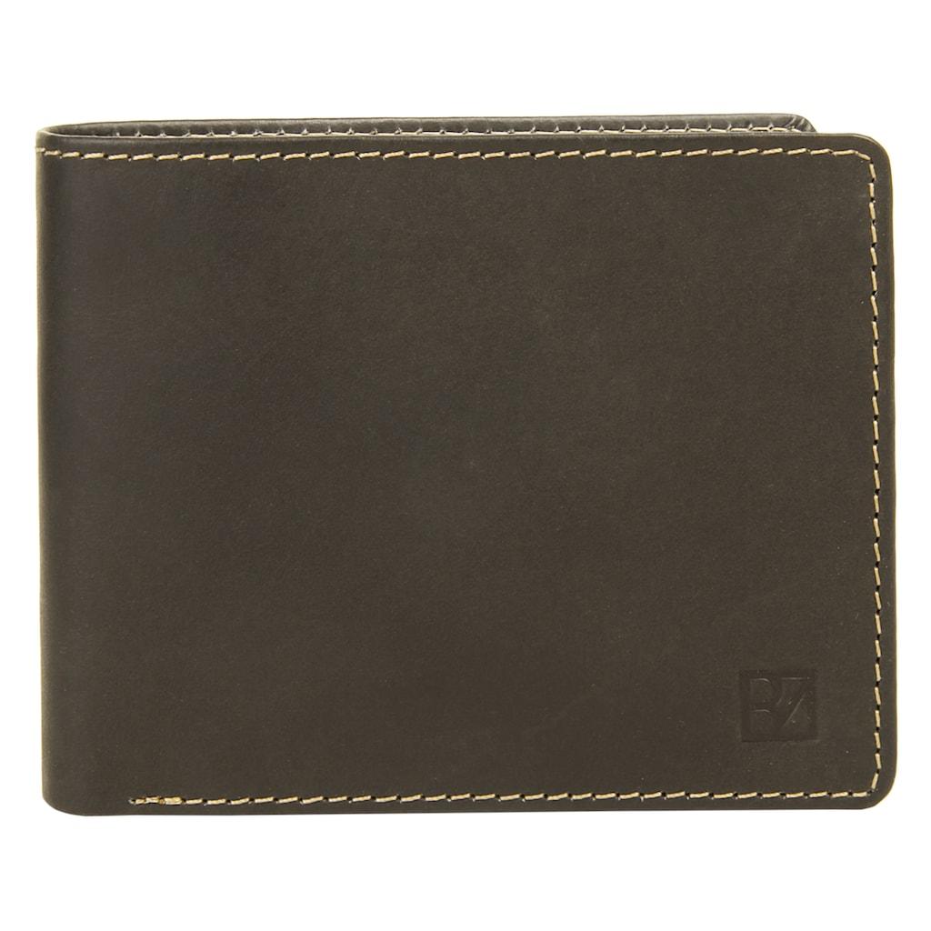 BODENSCHATZ Geldbörse »BICOLOUR«, 2fach klappbar