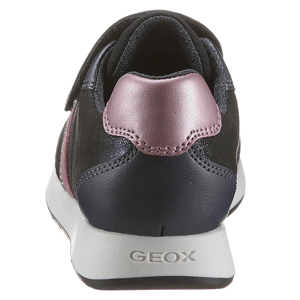 Geox Kids Sneaker »J Jensea Girl«, mit Gummizug und Klettverschluss