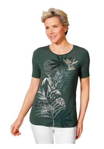 Mona Kurzarmshirt, mit dekorativen Perlen bestickt kaufen