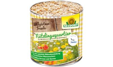 Neudorff Insektenhotel »WildgärtnerFreude«, Nützlingsquartiere für Wildbienen und... kaufen