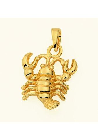 Adelia´s Kette mit Anhänger »585 Gold Sternzeichen Anhänger Krebs - Set mit... kaufen
