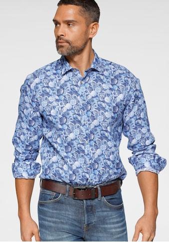OLYMP Langarmhemd »Level Five body fit«, aus reinem Leinen kaufen