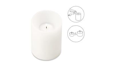 EDZARD Teelichthalter »Cornelius«, Kerzenhalter aus Kunststoff mit... kaufen