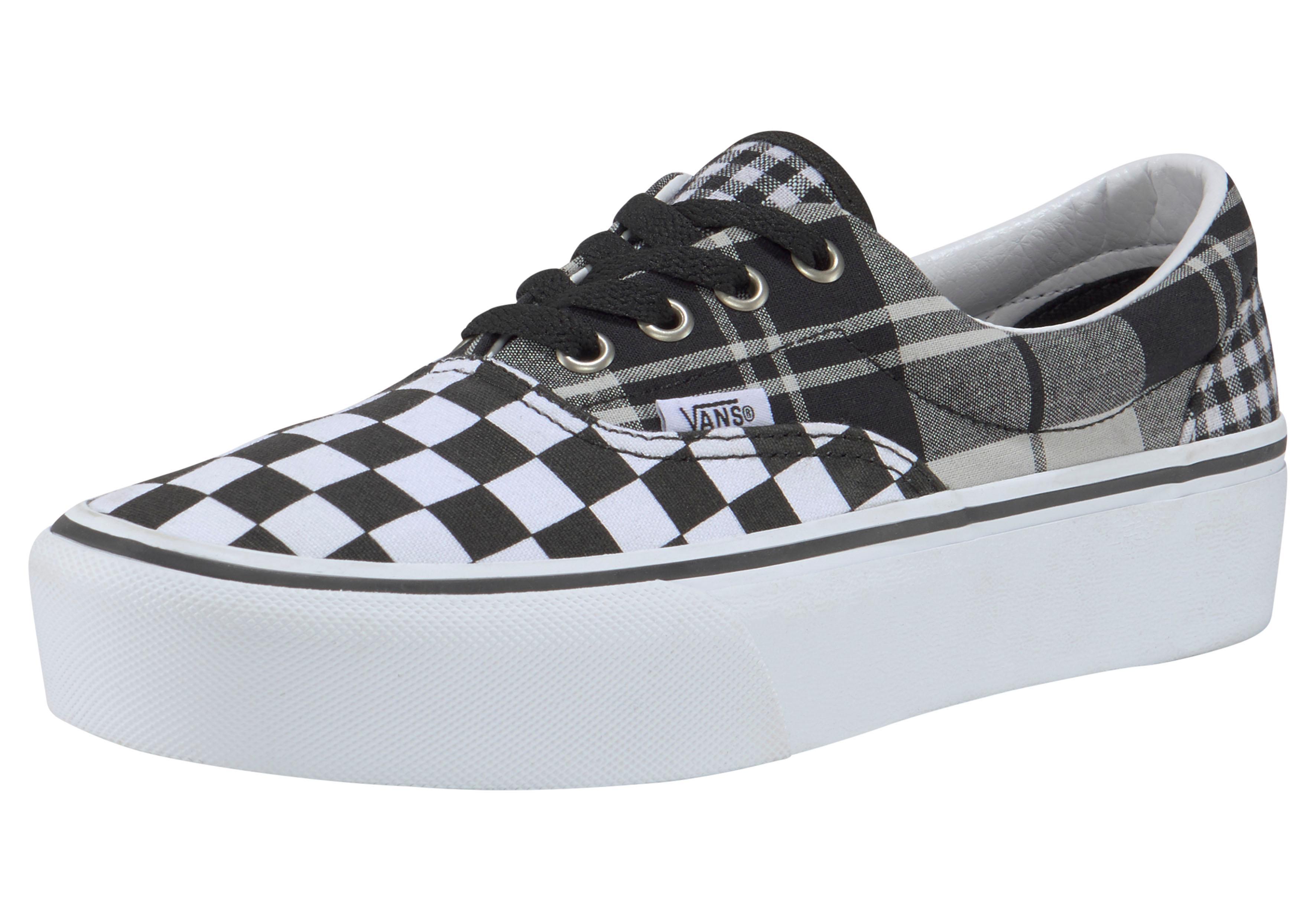 Vans Plateausneaker Era Checkerboard | Schuhe > Sneaker > Sneaker | Schwarz | Vans