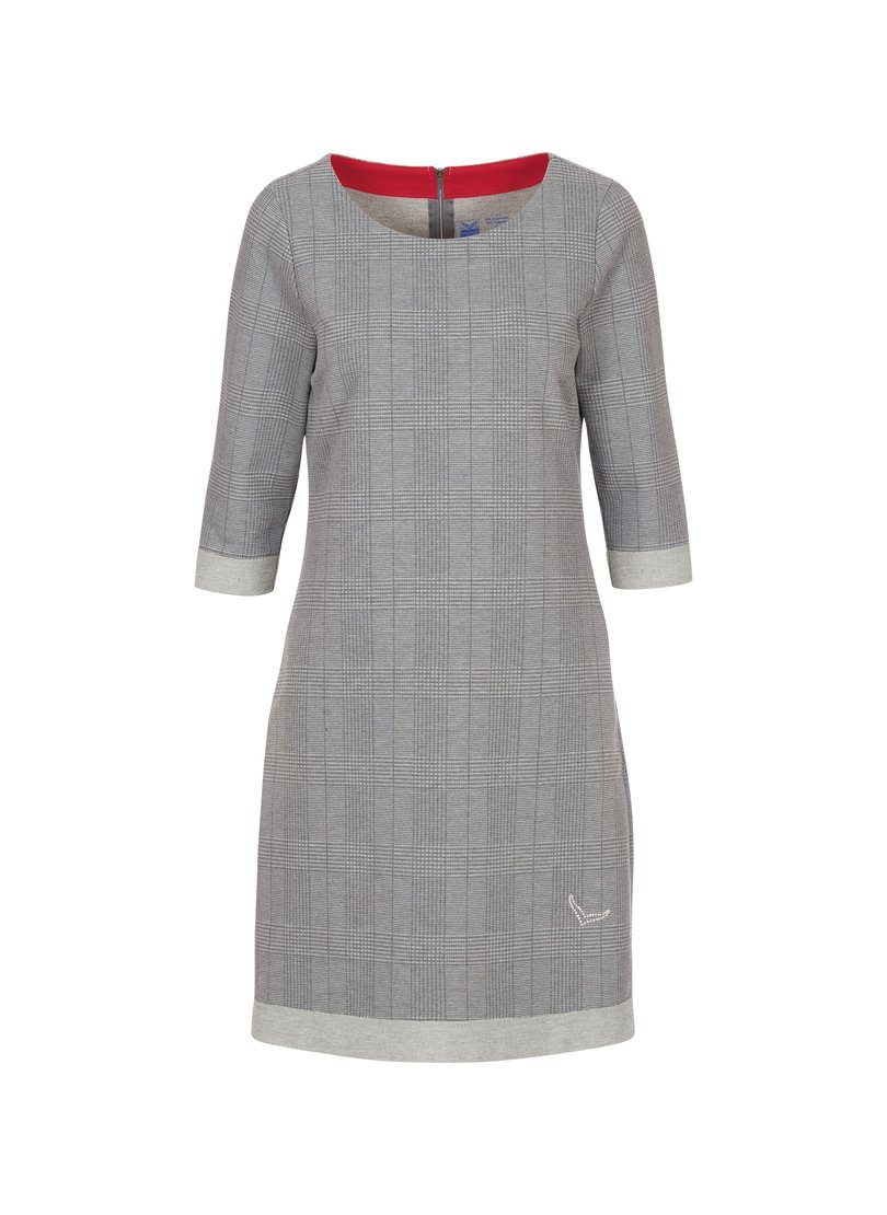 Trigema Kleid mit Karomuster