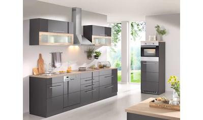 HELD MÖBEL Küchenzeile »Wien«, mit E-Geräten, Breite 350 cm, wahlweise mit Induktion kaufen