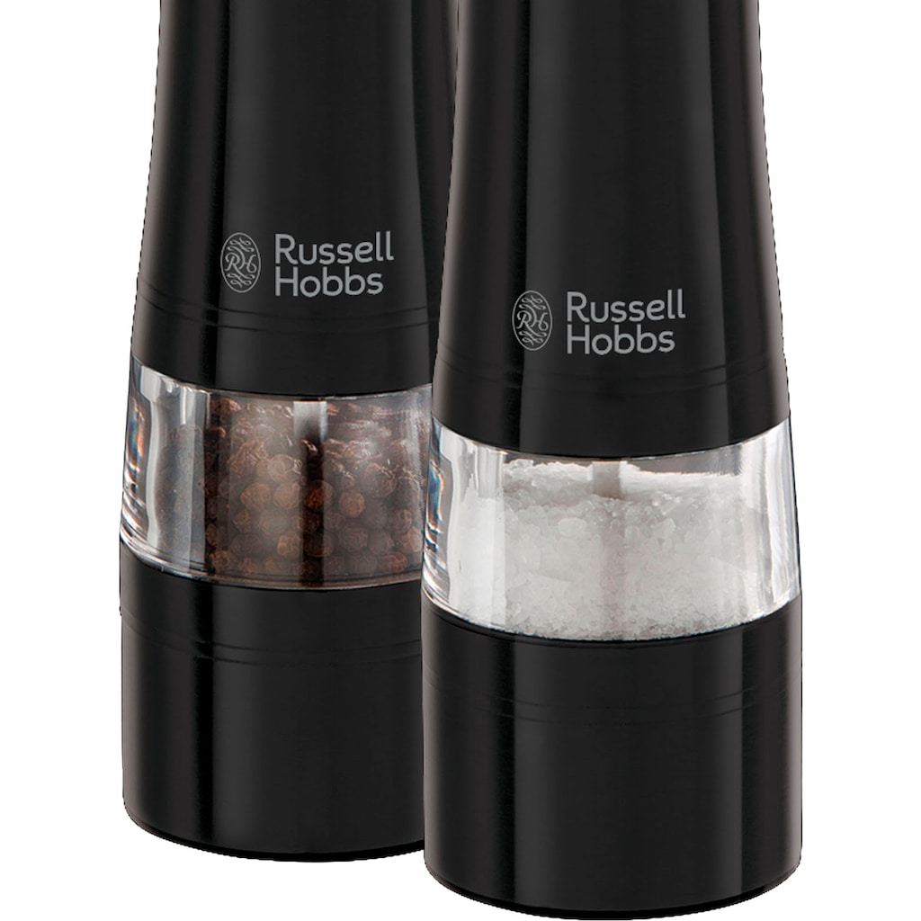 RUSSELL HOBBS Salz-/Pfeffermühle »Salz- & Pfeffermühlen«, (2 St.)