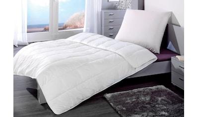 Microfaserbettdecke + Kopfkissen, »Sleep and Dream«, KBT Bettwaren kaufen