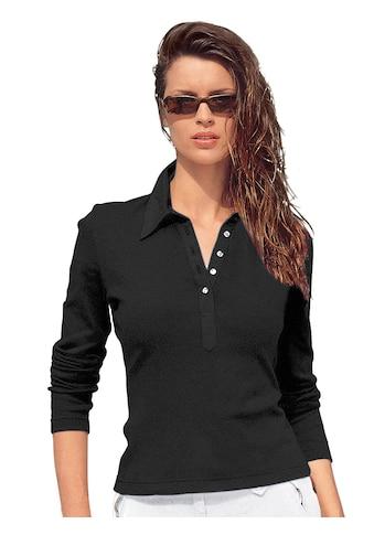 Casual Looks Poloshirt aus Baumwolle kaufen