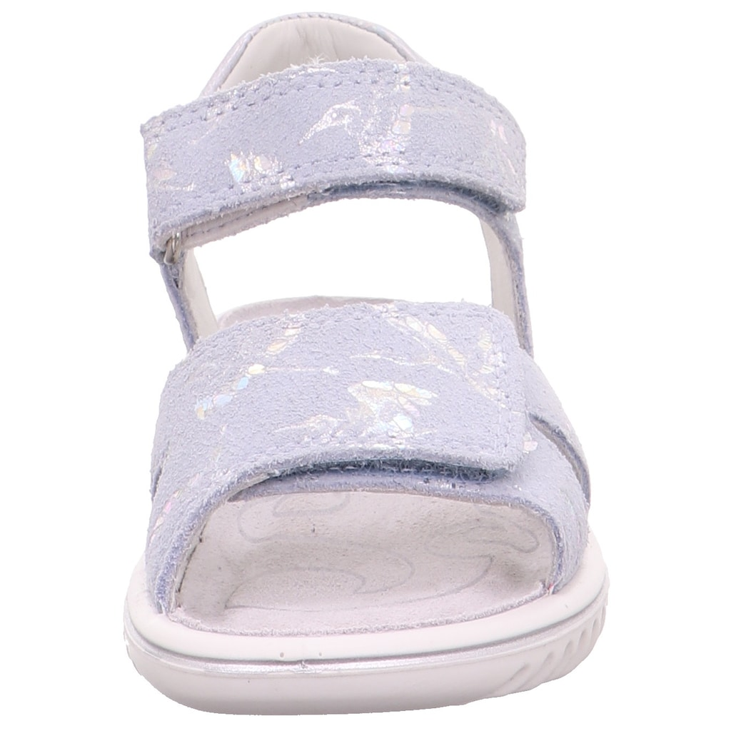 Superfit Sandale »Sparkle WMS Weiten-Messsystem: mittel«, mit doppeltem Klettverschluss