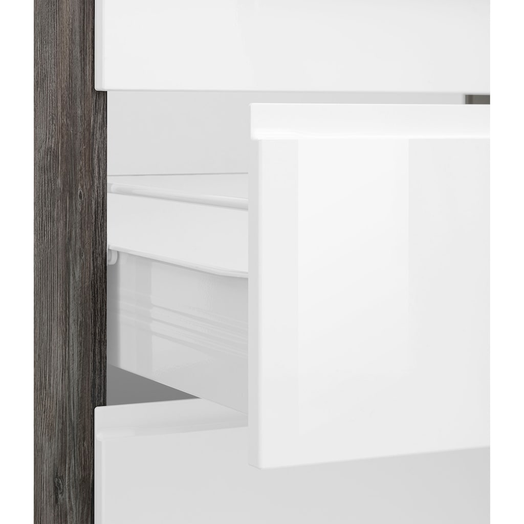 HELD MÖBEL Winkelküche »Virginia«, ohne E-Geräte, Stellbreite 230/190 cm