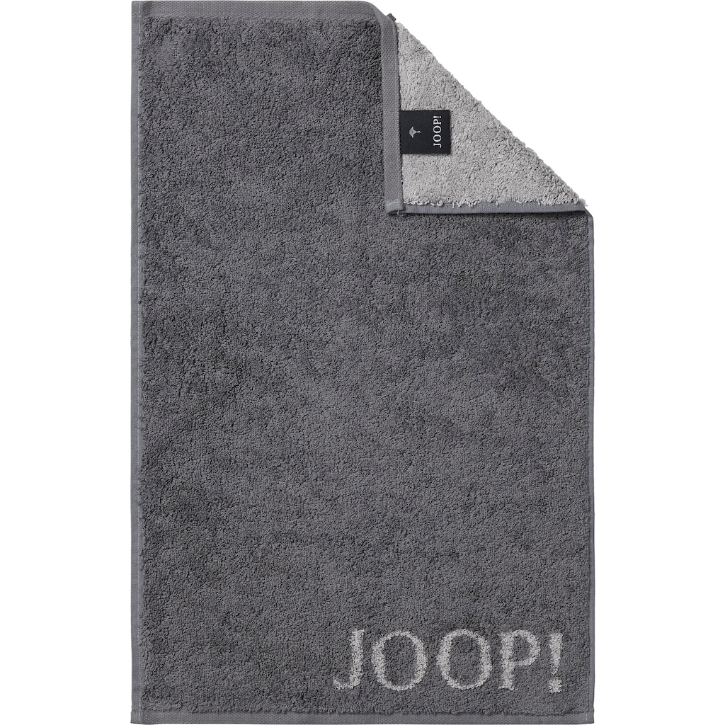 Joop! Gästehandtücher »Doubleface«, (3 St.), in extraflauschiger Walkfrottier-Qualität