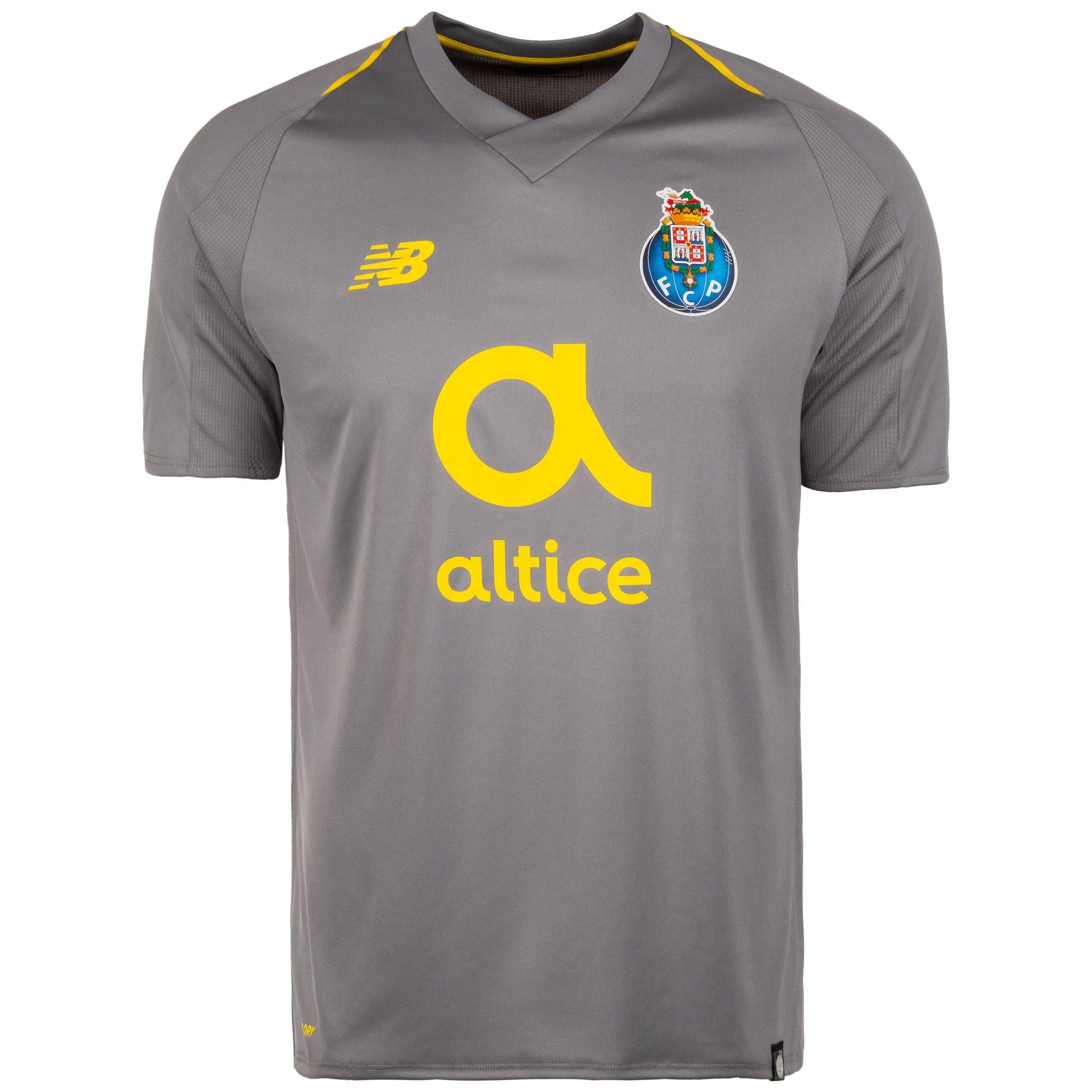 New Balance Fußballtrikot Fc Porto 18/19 Auswärts   Sportbekleidung > Trikots > Fußballtrikots   Grau   New Balance