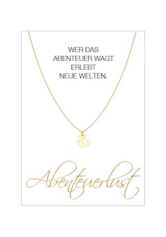 HERZ - KARTE Silberkette »Abenteuerlust« kaufen