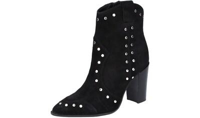 Bronx High-Heel-Stiefelette »Veloursleder« kaufen