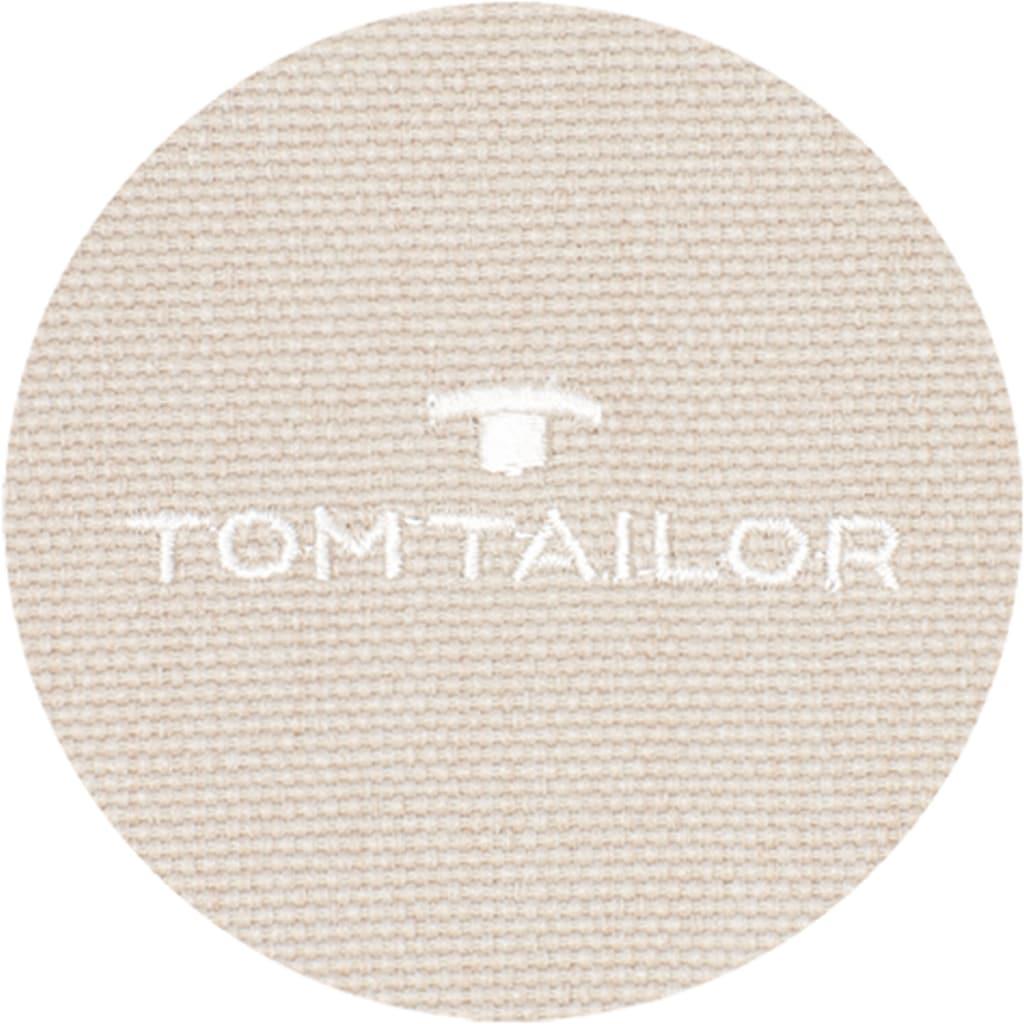 TOM TAILOR Vorhang »Dove Signature«, blickdicht